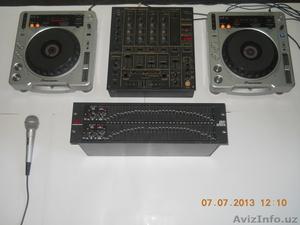 ПРОДАЁТСЯ.    PIONEER   COMPACT  DISC  PLAYER  - CDJ-800MK2-(2шт.)  MADE IN MALA - Изображение #1, Объявление #955514