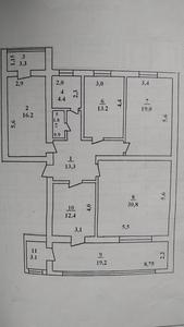 Продается 4/3/5 квартира на 6-микра р-не +998977141416 - Изображение #1, Объявление #1689130